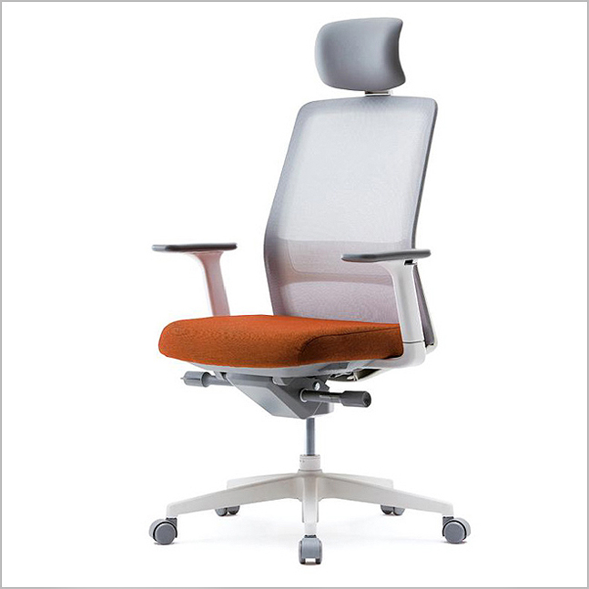 VTN-MDAU - High Meshback Fabric Seat