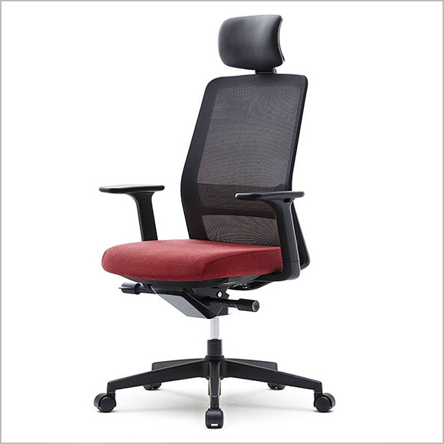 VT-MDAU - High Meshback Fabric Seat