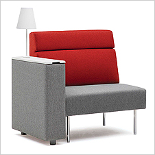 K-CUBE-S1/B1 - Sofa with IT Box (middle backrest)