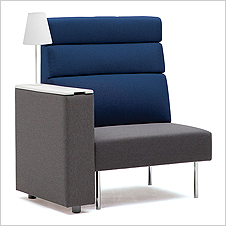 K-CUBE-S2/B1 - Sofa with IT Box (high backrest)