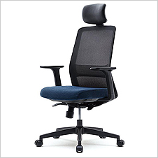 VTN-SDAU - High Meshback Fabric Seat